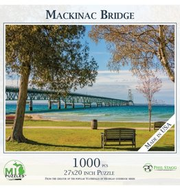 MACKINAC BRIDGE 100O PIECE PUZZLE