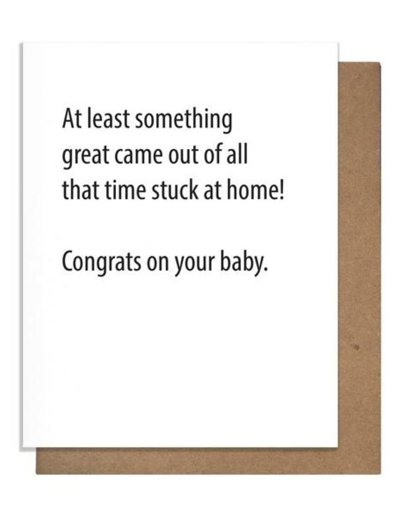 SOMETHING GREAT GREETING CARD