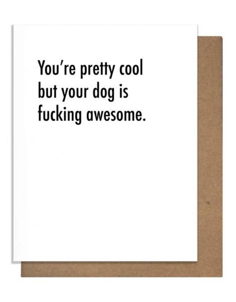 DOG LOVE GREETING CARD