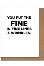 FINE LINES GREETING CARDS