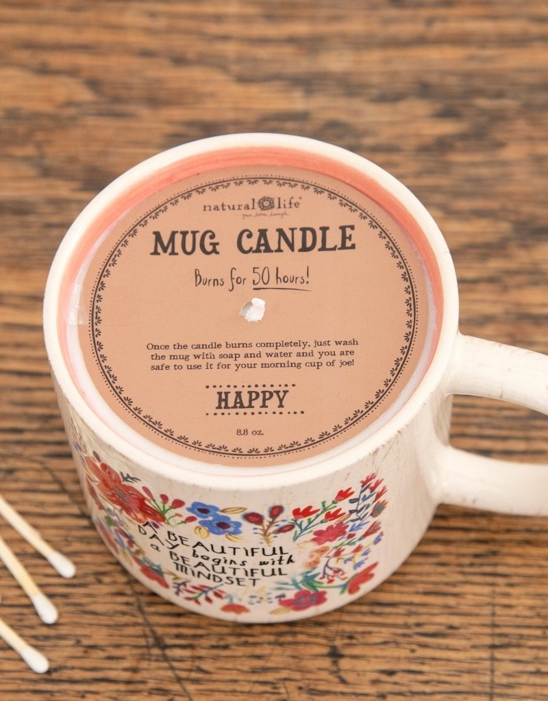 BEAUTIFUL DAY MUG CANDLE