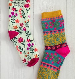 HAPPY BOHO SOCKS- SET OF 2
