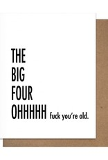 FOUR OH GREETING CARD