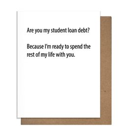 LOAN DEBT GREETING CARD