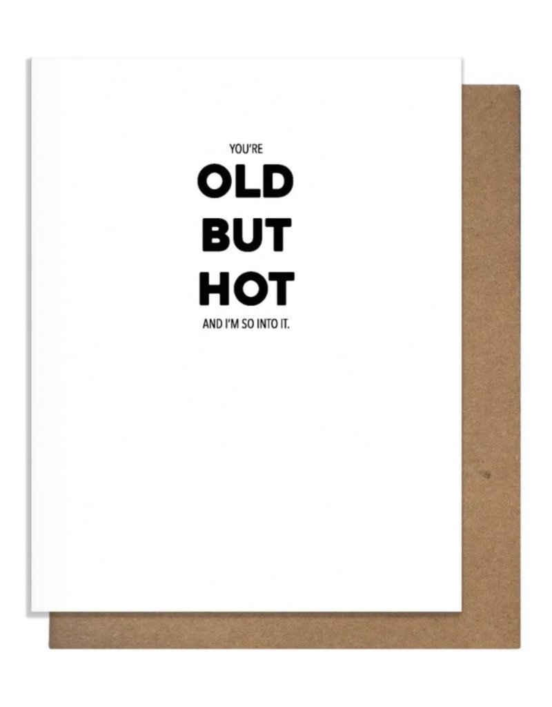 OLD BUT HOT GREETING CARD