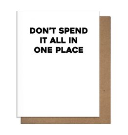 ONE PLACE GREETING CARD