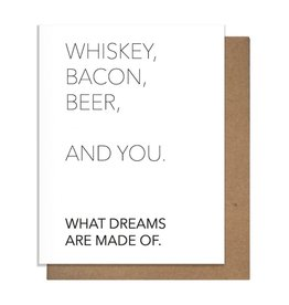 WHISKEY + YOU GREETING CARD