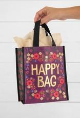 NATURAL LIFE MEDIUM PLUM FLORAL HAPPY BAG