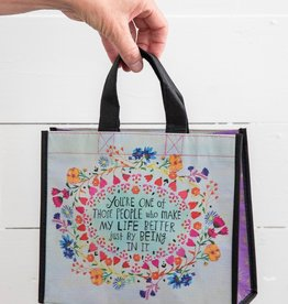 MEDIUM YOU MAKE LIFE BETTER HAPPY BAG