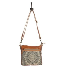 MYRA BAGS DIZZY CIRCLE SMALL CROSS BAG