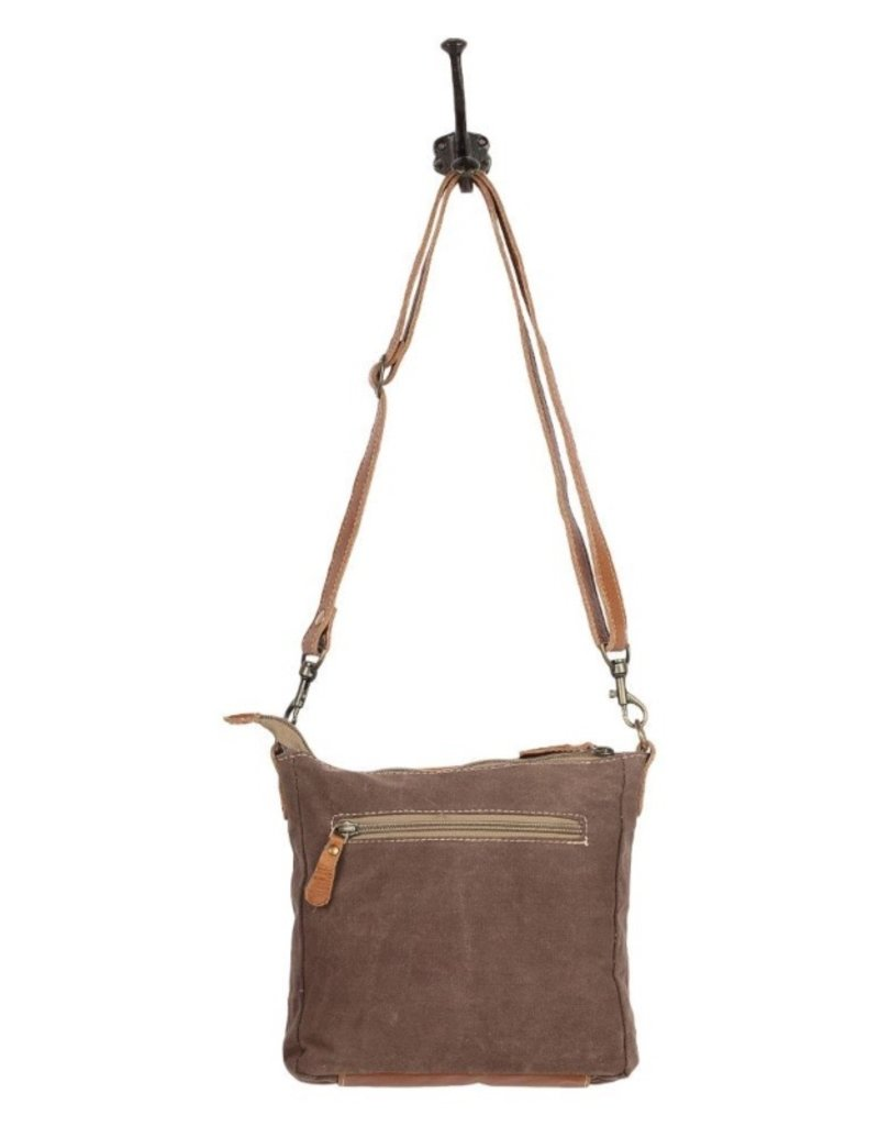 MYRA BAGS DIZZY CIRCLE SMALL CROSS BAG