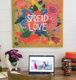 CANVAS TAPESTRY-SPREAD LOVE