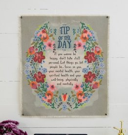 CANVAS TAPESTRY-TIP OF THE DAY