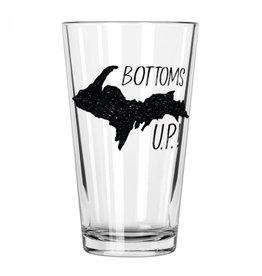 BOTTOMS U.P. PINT GLASS