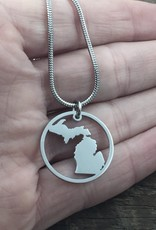 BE INSPIRED MICHIGAN NECKLACE