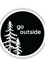 GO OUTSIDE STICKER