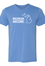 MICHIGAN AWESOME T-SHIRT- 2 COLOR OPTIONS