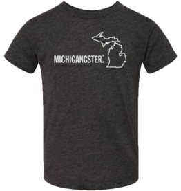MICHIGANGSTER KIDS T-SHIRT- 2 COLOR OPTIONS