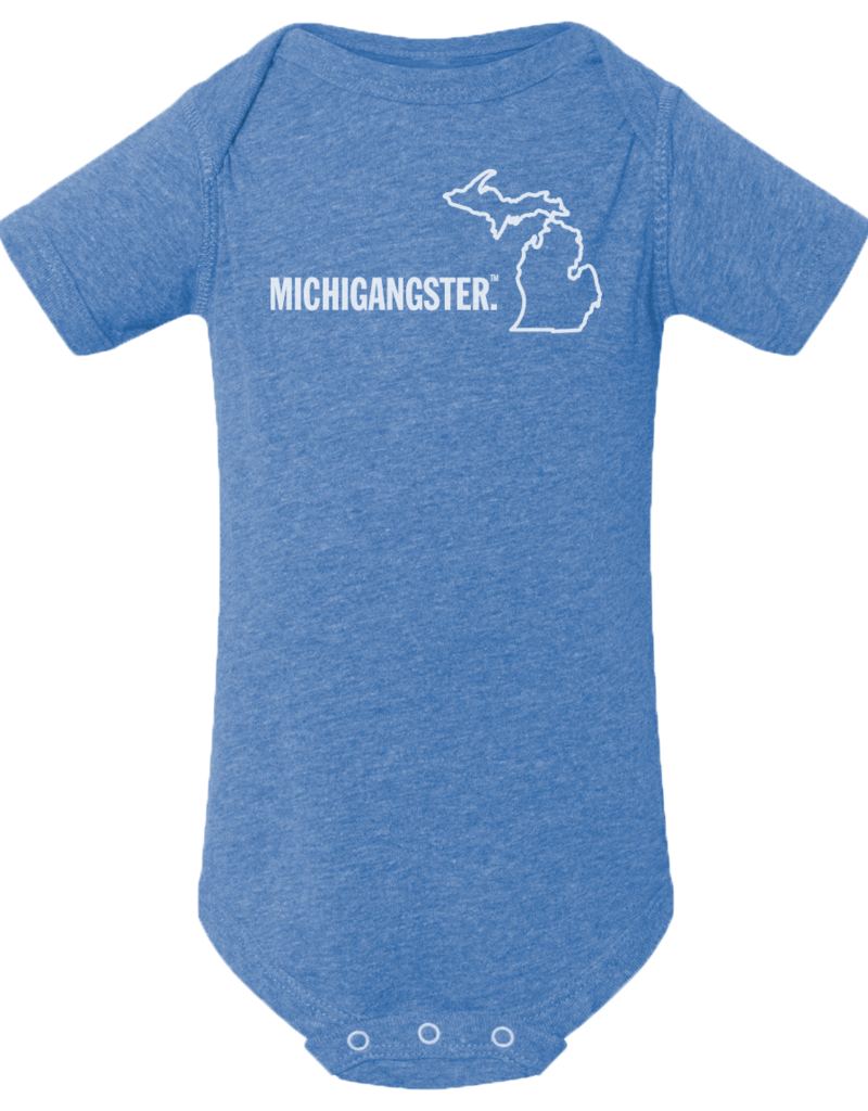 MICHIGANGSTER ONESIE- 2 COLOR OPTIONS