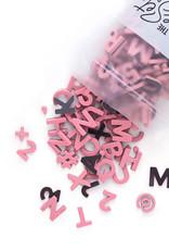 "1"" MAGNETIC LETTERS-MULTIPLE COLORS"