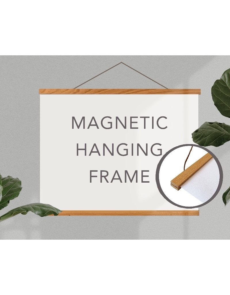 "24"" MAGNETIC POSTER HANGER FRAME"