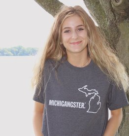 MICHIGANGSTER T-SHIRT- 2 COLOR OPTIONS