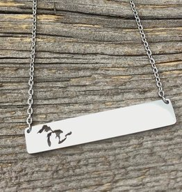 GREAT LAKES BAR NECKLACE