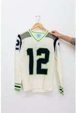 Tribute Sweaters Seattle White Sweater #12