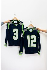 Tribute Sweaters Seattle Navy Sweater #12