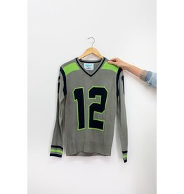 Tribute Sweaters Seattle Grey Sweater #12