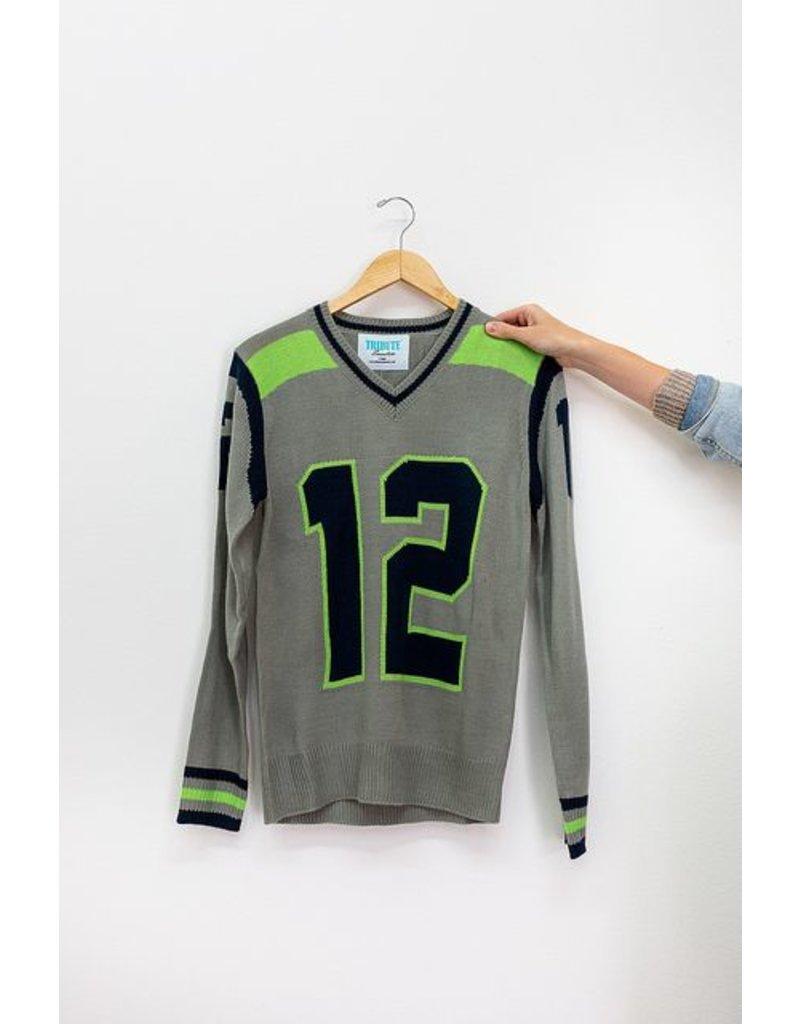 Tribute Sweaters Seattle Grey Sweater #12