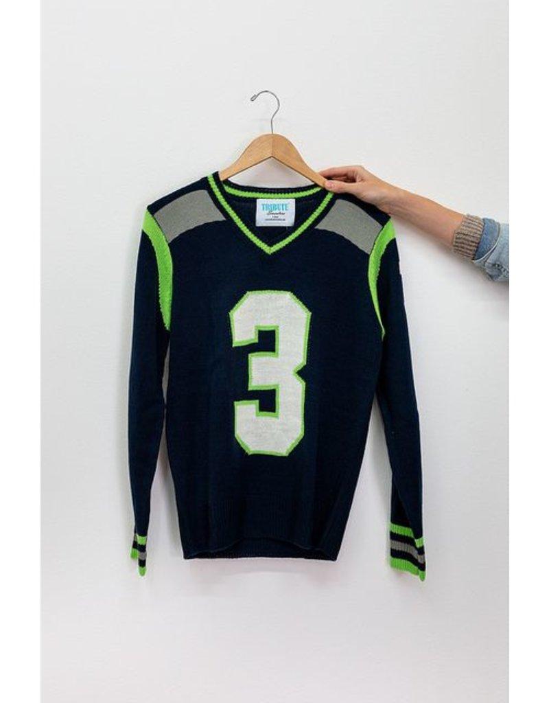 Tribute Sweaters Seattle Navy Sweater #3