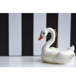 8 Oak Lane Pool Float Swan Ornament