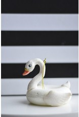 8 Oak Lane Pool Float Swan Ornament