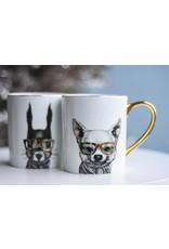 8 Oak Lane Bunny Coffee Mug