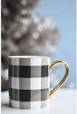 8 Oak Lane Gingham Coffee Mug