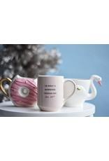 8 Oak Lane Pink Donut Coffee Mug