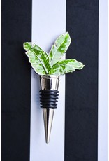 8 Oak Lane Botanical Leaf Bottle Stopper