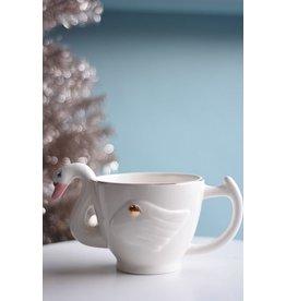 8 Oak Lane Swan Coffee Mug
