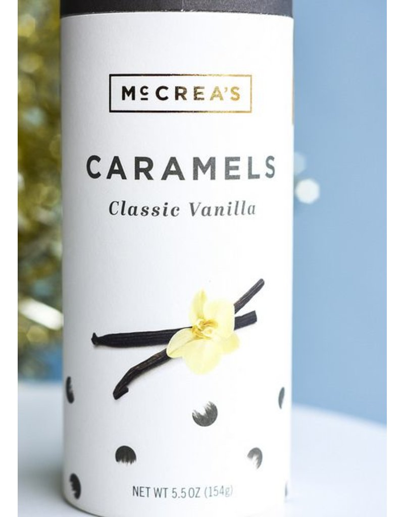 McCrea's Candies Classic Vanilla Tall Tube
