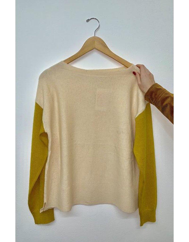 Ellison Mustard Sleeve Sweater