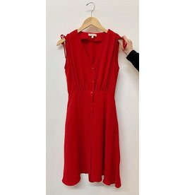 Gilli Red Woven Dress