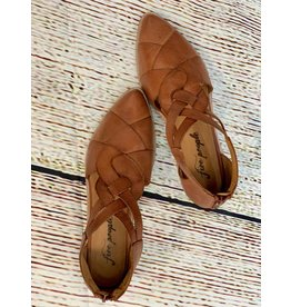 Free People Brown Wanderlust Flat