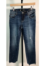 KUT Reese Ankle Jeans Raw Hem