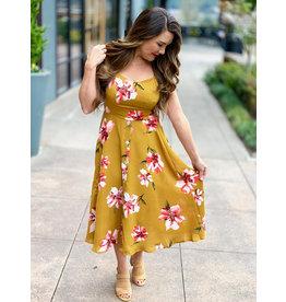 Gilli Mustard Dress