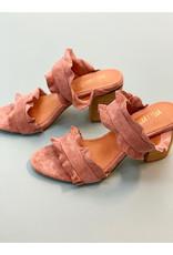 Mi.iM Rose Rachel Casual Ruffle Block Heel