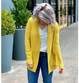 Staccato Mustard Light Weight Sweater Cardigan