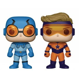 Funko Pop Blue Beetle & Booster Gold PX Previews 2 Pack