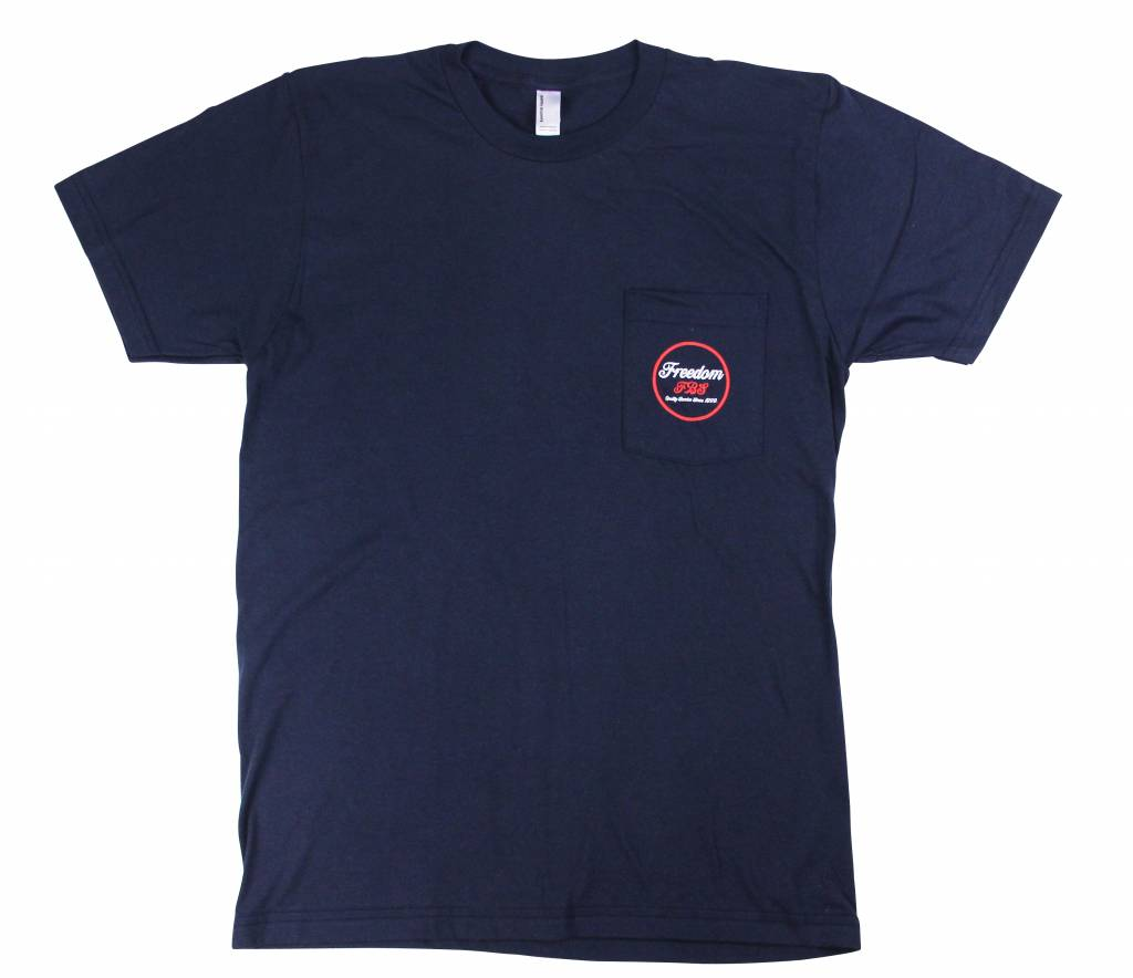 Freedom Boardshop TEE-FREEDOM CIRCLE POCKET