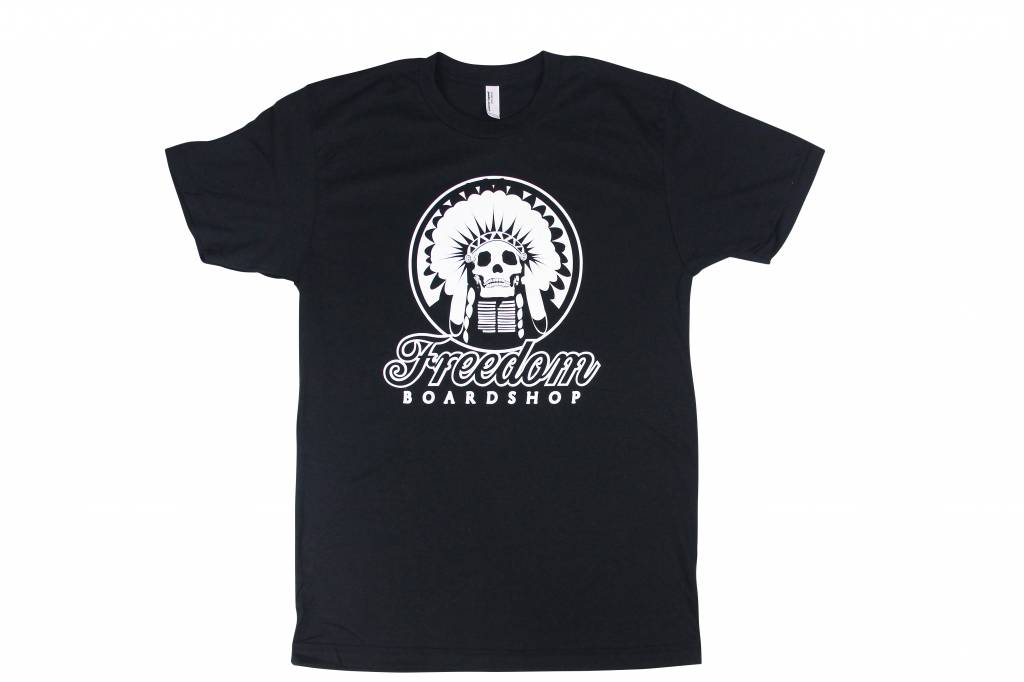 Freedom Boardshop TEE-FREEDOM INDIAN SKULL